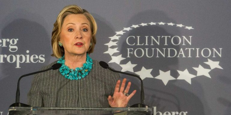 "Clinton Foundation ""Pay-to-Play"" Falls Apart After Hillary Election Loss"
