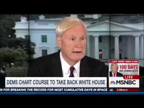 MSNBC Chris Matthews Exposes Further Proof of Far-Left's Delusions of Grandeur